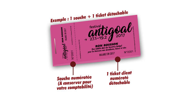 billetterie buvette antigoal