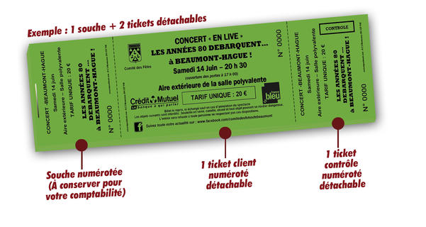 imprimer ticket concert pas cher Beaumont-Hague