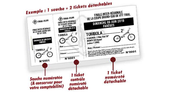 tickets personnalisables Fareges