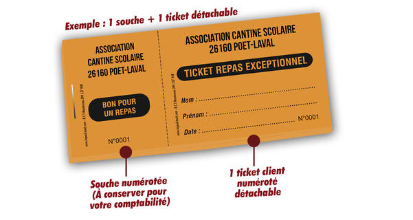 tickets repas cantine scolaire laval