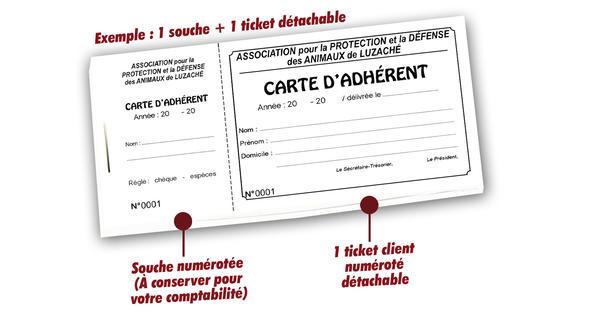 Imprimer Carte Adhrent Pas Cher De Membre Pche