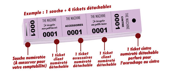 tickets vestiaire the machine