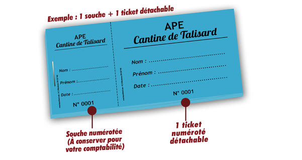 ticket repas cantine talissard